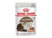 Ageing 12+ (в соусе), влажный корм для кошек старше 12 лет