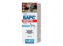 Барс ФОРТЕ спрей инсектоакарицидный для щенков, 100мл