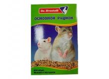 Dr.Hvostoff Основной рацион для крыс, мышей и песчанок