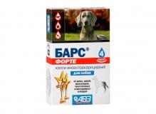 Барс ФОРТЕ капли инсектоакарицидные для собак, 1 пип