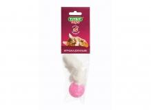 Хвост кроличий (игрушка для кошек)-мягкая упаковка