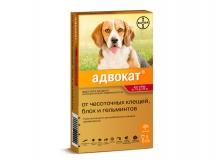 Адвокат для собак 10-25кг, 1 пипетка