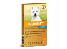 Адвокат для собак 4-10 кг, 1 пипетка