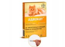 Адвокат для котов до 4 кг, 1 пипетка