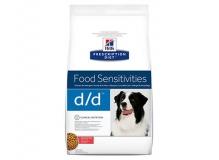 Hill's Prescription Diet d/d, д/собак с дермат. проблемами/пищ. алл.