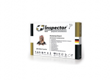 Inspector Капли от внешних и внутренних паразитов для собак до 4 кг