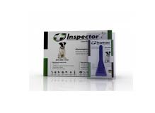 Inspector Капли от внешних и внутренних паразитов для собак 4-10 кг