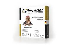 Inspector ошейник от внешних и внутренних паразитов для мелких собак
