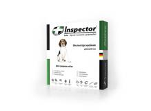 Inspector ошейник от внешних и внутренних паразитов для средних собак