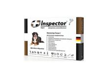 Inspector ошейник от внешних и внутренних паразитов для крупных собак
