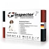 Inspector Капли от внешних и внутренних паразитов для собак 10-25 кг