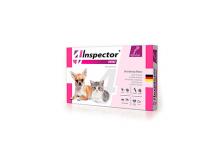 Inspector Тотал mini Капли для кошек и собак 0,5-2 кг