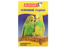 Dr. Hvostoff Основной рацион для волнистых попугаев