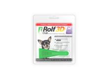Rolf Club 3D Капли для собак до 4 кг от клещей и блох