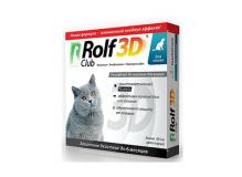 Rolf Club 3D Ошейник от клещей и блох для кошек